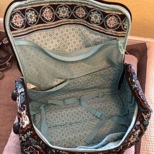 cf1fee0635 Vera Bradley Bags - Vera Bradley Java Blue roller suitcase bag